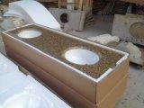 Tiger Skin Yellow Granite, Yellow Granite Tile Countertop Slab
