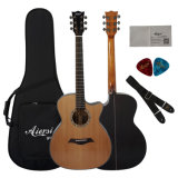 Factory Hot Sales Western Acoustic Guitar with Low Price
