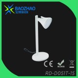 Decorative Table Lamp in Painted White