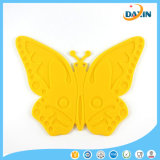 Cheap Cute Silicone Carton Butterfly Placemat Cup Mat Coaster Place Mat Table Decor