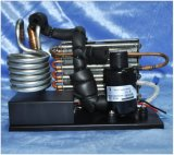 High Integration Refrigeration System with DC Compressor for Small Water Cycling Cooling