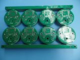 Heavy Copper 2.07oz PCB Board 2layer HASL with Green Soldermask