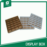 OEM White Corrugated Slice Trays with Dividers Wholesale