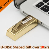 Custom Logo Gifts Sliding Golden Bar USB Flash Drive (YT-1211)
