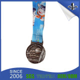 Europe Promotional Cmyk Printed Sublimation Medal Ribbon