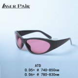 High Protection Laser Safety Glasses Atd 740 - 850nm for Arion Features a 755nm Wavelength Meet Ce En207
