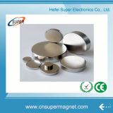 Sintered Rare Earth Powerful Round Permanent NdFeB Magnet