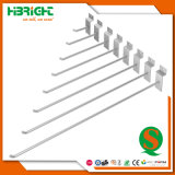 Supermarket Steel Wire Single Prong Hook for Gondola Shelves