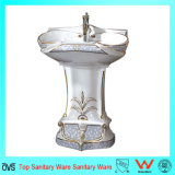 Cheap Pedestal Sinks, Outdoor Wash-Basin, Art Color Wash Basin