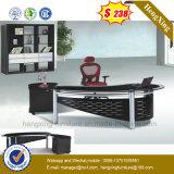 Elegant Office Furniture New Design Glass Office Desk (NS-ND131)