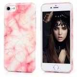Marble Design Slim Shockproof Clear Bumper TPU Soft Rubber Skin Cover for iPhone 7 Plus