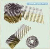 Q195/Q235 Duplex Roofing Nails Coil Nails