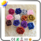 Packaging Material Curling Bubble Simulation PE Gold Roses