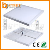 400*400mm 30W Square Ceiling Lights Dimmable LED Panel with Remote Controller