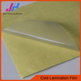 PVC Self Adhesive Protect Film Cold Lamination Film