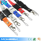 Company Logo Lanyard Event USB Flash Pen Drive