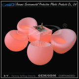 New PE Material Rotational Moulding Plastic Lighted LED Furniture