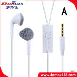 Mobile Phone 3.5mm Earbud Earphone with Line Control
