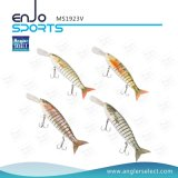 Multi Jointed Life-Like Fishing Lure Swimbait Deep Diving Artificial Fishing Tackle Fishing Gear (MS1923V)