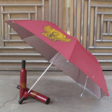 Straight Windproof Umbrella with Customer Logo Printing for Promotion