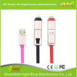 Retractable USB Port to Micro USB Data Cable