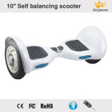 2017 White Big Inflatable Wheels 10inch Self Balancing Electric Scooter