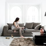 Best Price Modern Living Room Fabric Sofa Set (F810)