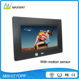 Promotion 7 Inc 800 480 Digital Photo Frame Video with Motion Sensor