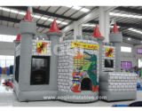 Inflatable Gray Fort Combo Make in China (AQ07134)