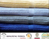 100% Cotton Terry Stripe Towel with Satinborder
