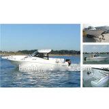 Ce Certificate Fiberglass Cabin Folding Fishing Boat
