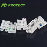 Protect Sapphire Transparent Ceramic Brackets with CE
