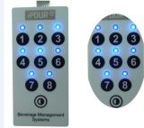 Embossed Metal Dome Tactile Membrane Switches Keypad (OLY-MS-01)