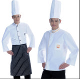 New Style White Chef Uniform for Hotel and Restaurant