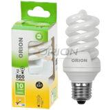 Eco T3, T4 9W, 11W, 15W, 20W, 25W, 30W Full Spiral Compact Fluorescent Light Bulb