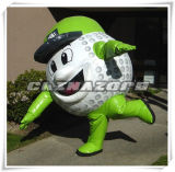 High Emulational Inflatable Golf Ball Moving Cartoon Wholesale Price