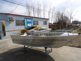 Beautiful Aluminum Alloy Boat Fishing Boat in Big Sea