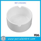 White Wholesale Porcelain Cheap Ashtray