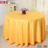 Round Jacquard Cheap Table Cloth