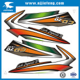 Customized Free Design Motorcycle Sticker Decal