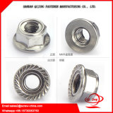DIN6923 Zinc Plated Flange Nuts