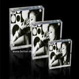 Custom Clear Acrylic Two Sides Photo Frame (BTR-U1079)