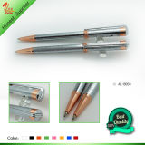 Magic Electronic Blue Metal Ballpoint Pen