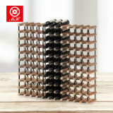 121 Bottles Wine Rack Kits Europe Style Wooden Wine Cellar