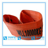 10t Polyester Webbing Sling ISO4878/En1492-1/Asme B30.9