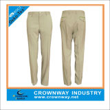 Wholesale Golf Apparel Custom Mens Casual Cotton Twill Golf Pant, Golf Trousers