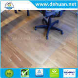 "Chair Mat for Thin Commercial-Grade Carpets, Rectangular, 46""W X 60""D, Clear"