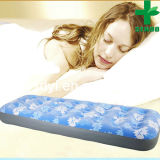 2014 Hot Selling Promotion High Quality Inflatable Air Mattress Flocked Inflatable PVC King Size Air Bed (SENDO 035)