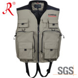 Latest Style Fishing Vest with Ce Certificate (QF-1904)