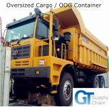 Professional 20′fr/40′fr/20′ot/40′ot/45′hc Oog Shipping Service From Qingdao to Klaipeda, Lithuania